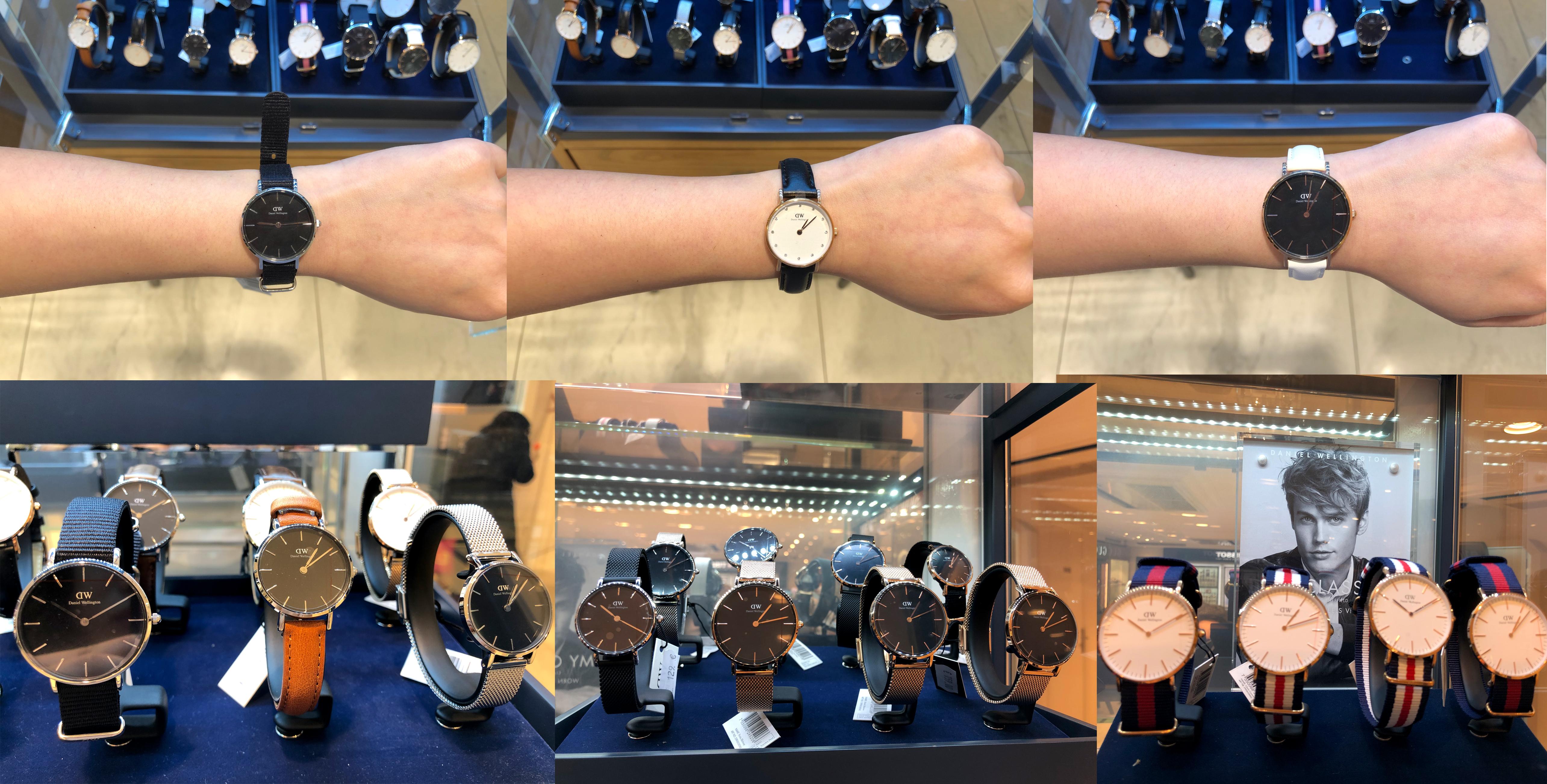 巴黎dw手表