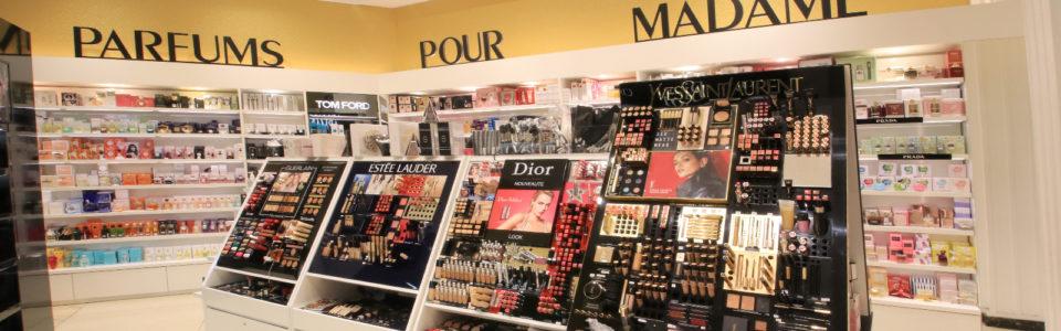 Cosmetic department